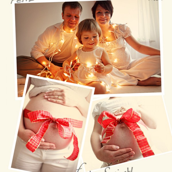 Again?! Already?! Christmas Coming {Family Session, Maternity Session}