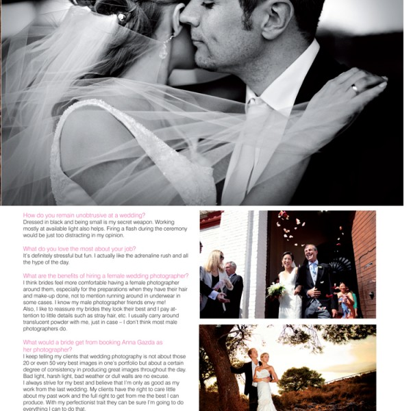 Wedding Photographer Costa del Sol | Confeti Magazine Interview