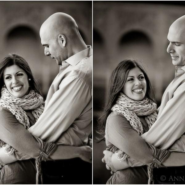 Jessica & Matt {Pre-wedding session in Alhambra Granada}