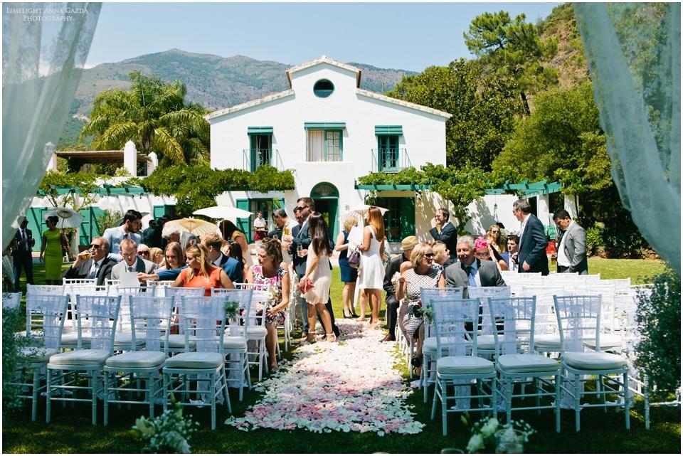 Casa del Rio Benahavis wedding venues Spain