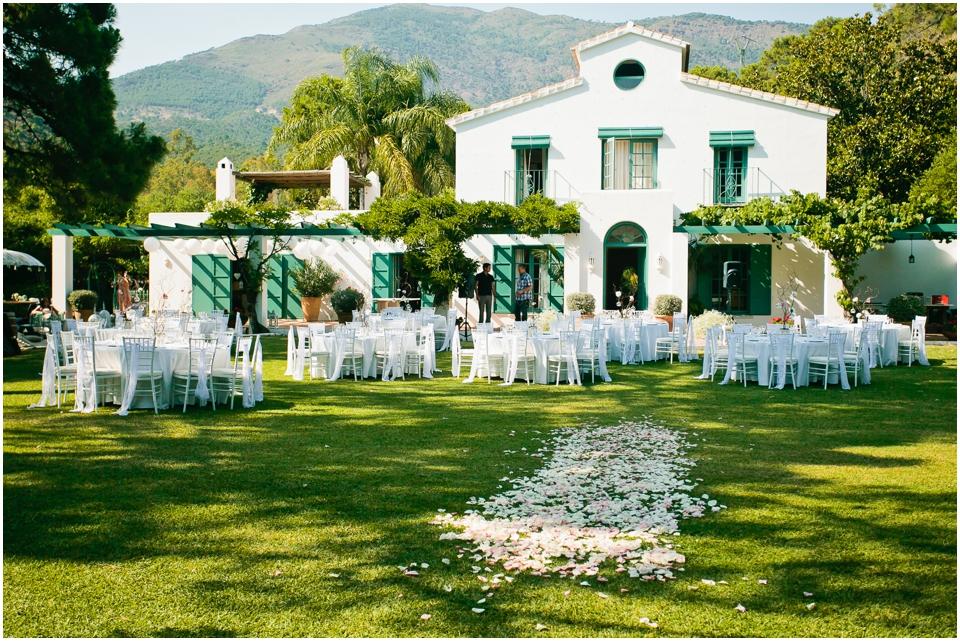 Casa del Rio Benahavis wedding