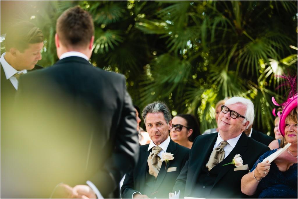 Marbella Club Wedding ceremony