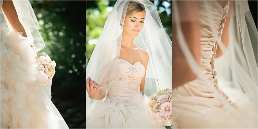 bride at Villa del Mar Marbella