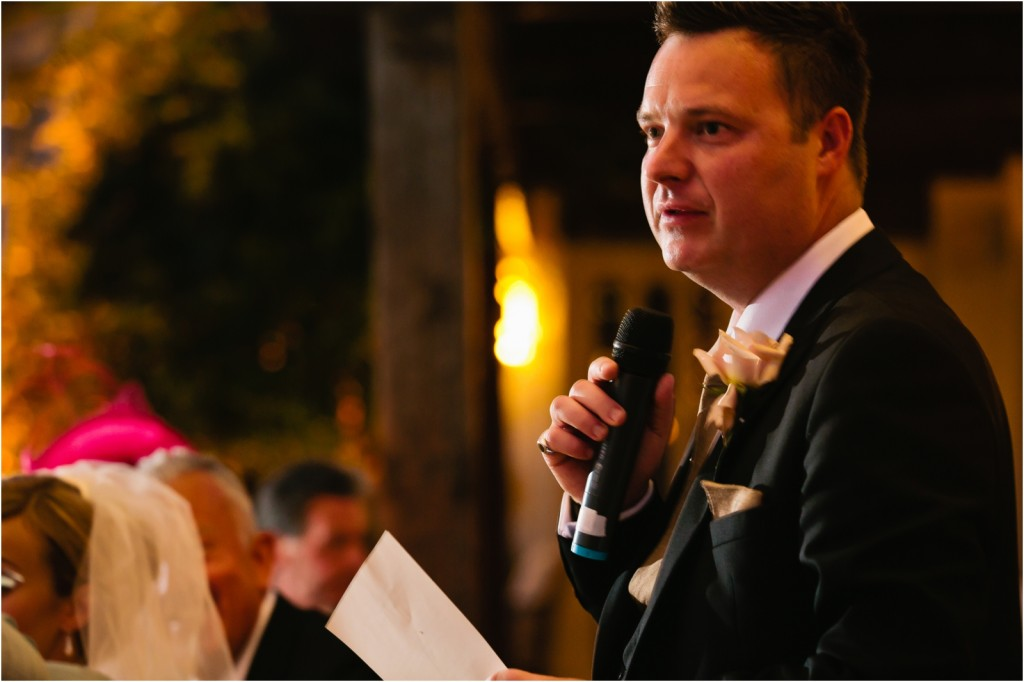 groom's speech Marbella Club