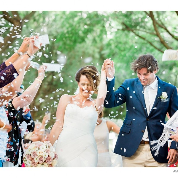 Anna and Jeff's beautiful fairy woodland wedding in Sotogrande, Spain