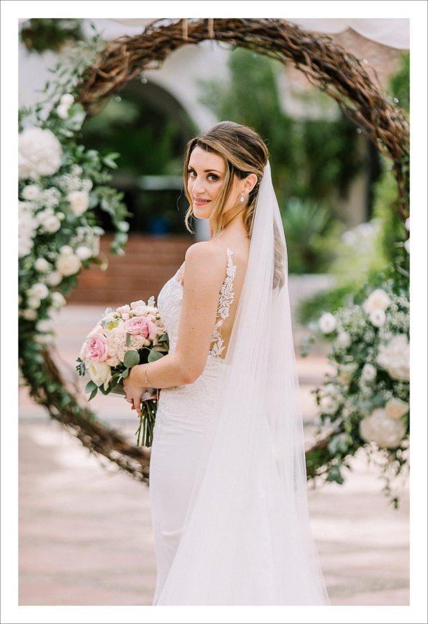 elegant boho wedding in Spain