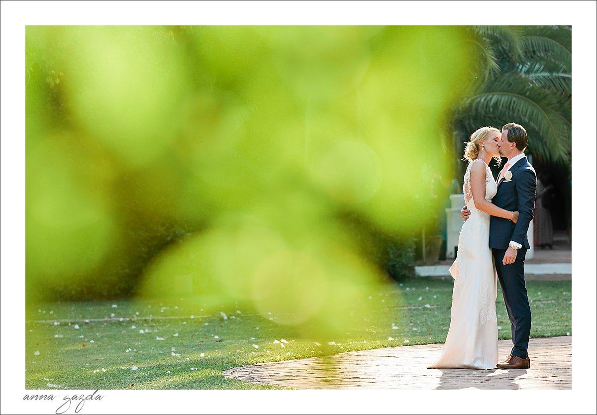 Finca La Concepcion Marbella Wedding bride and groom