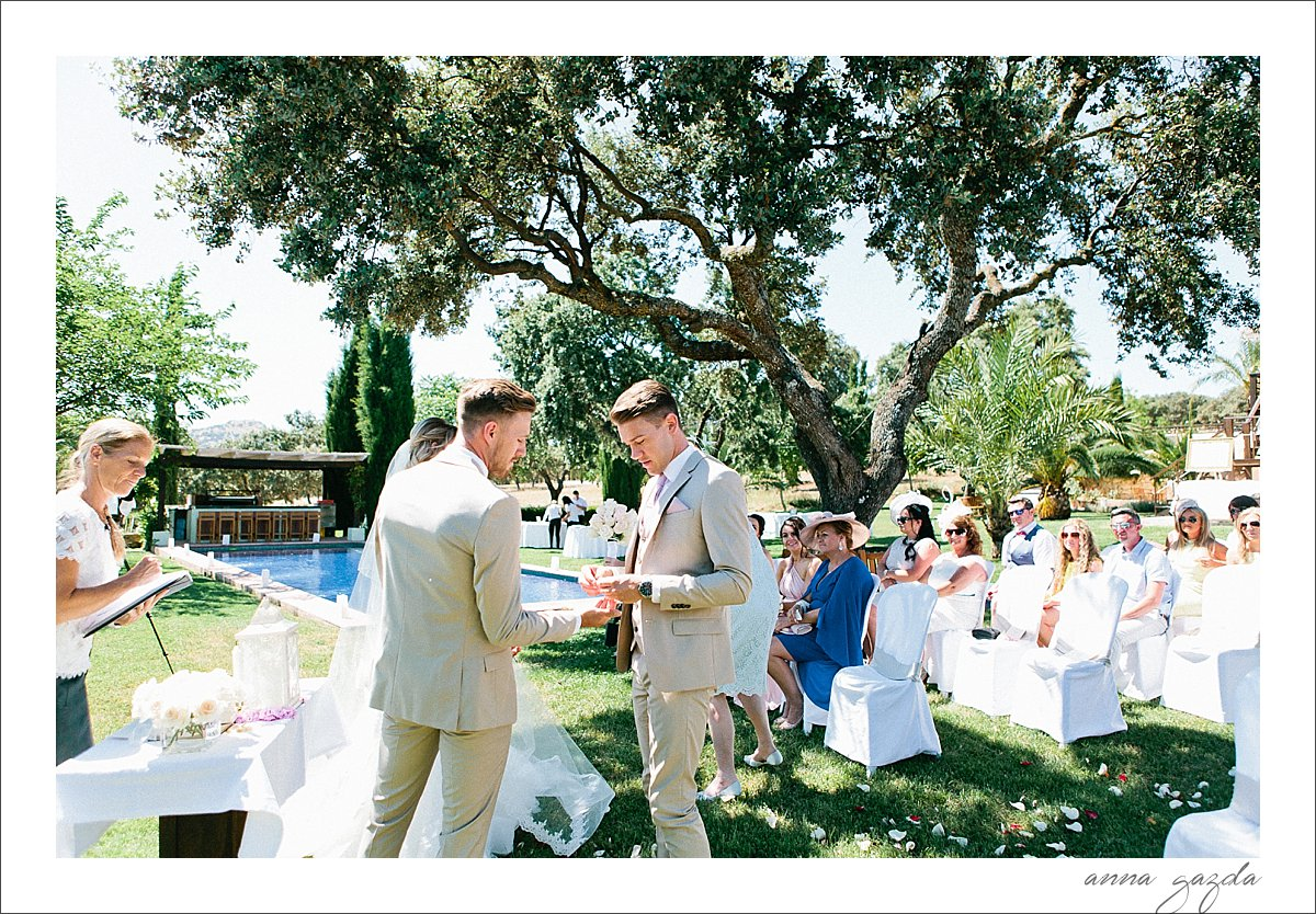 Debbie & Barry wedding in Ronda Spain The Lodge 31077