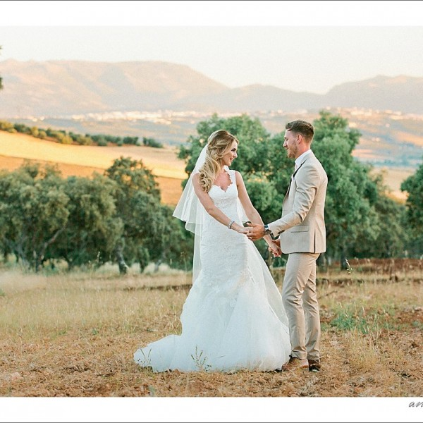 Debbie & Barry {Wedding in Ronda, Spain, The Lodge}