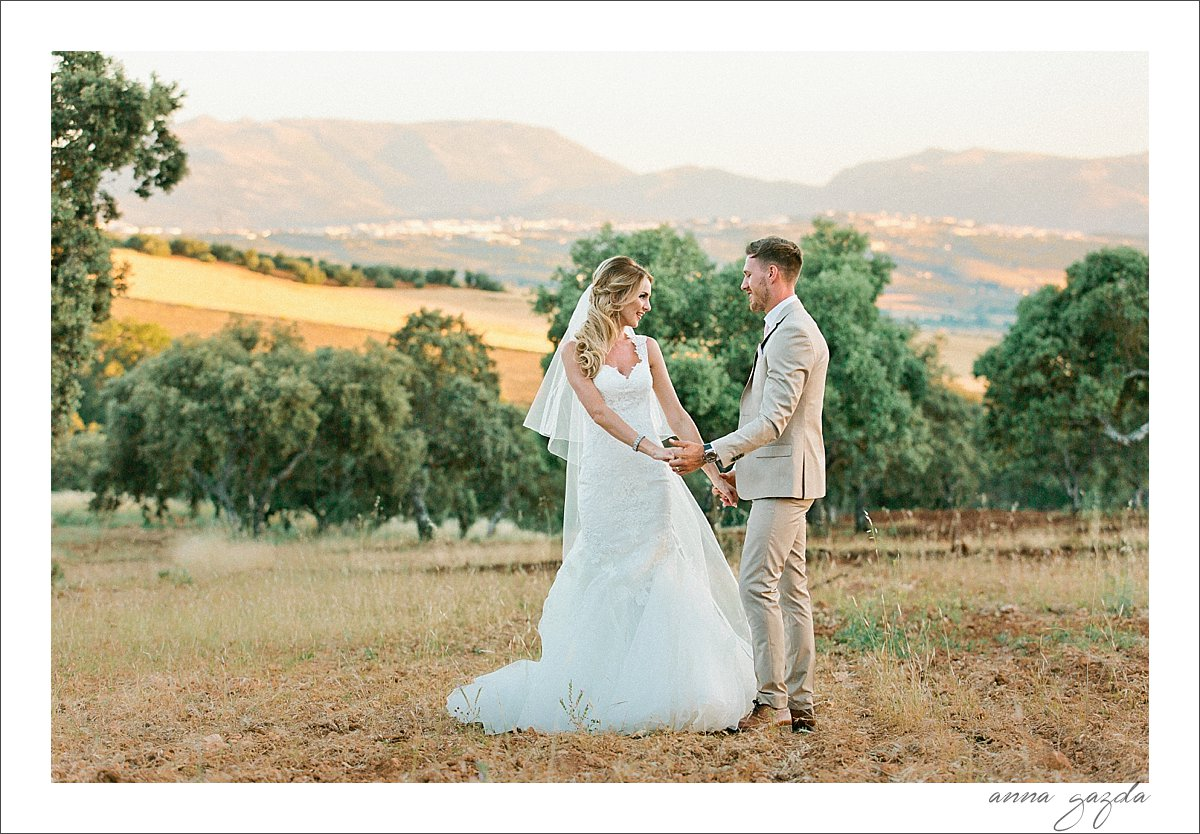 Debbie & Barry wedding in Ronda Spain The Lodge 31165