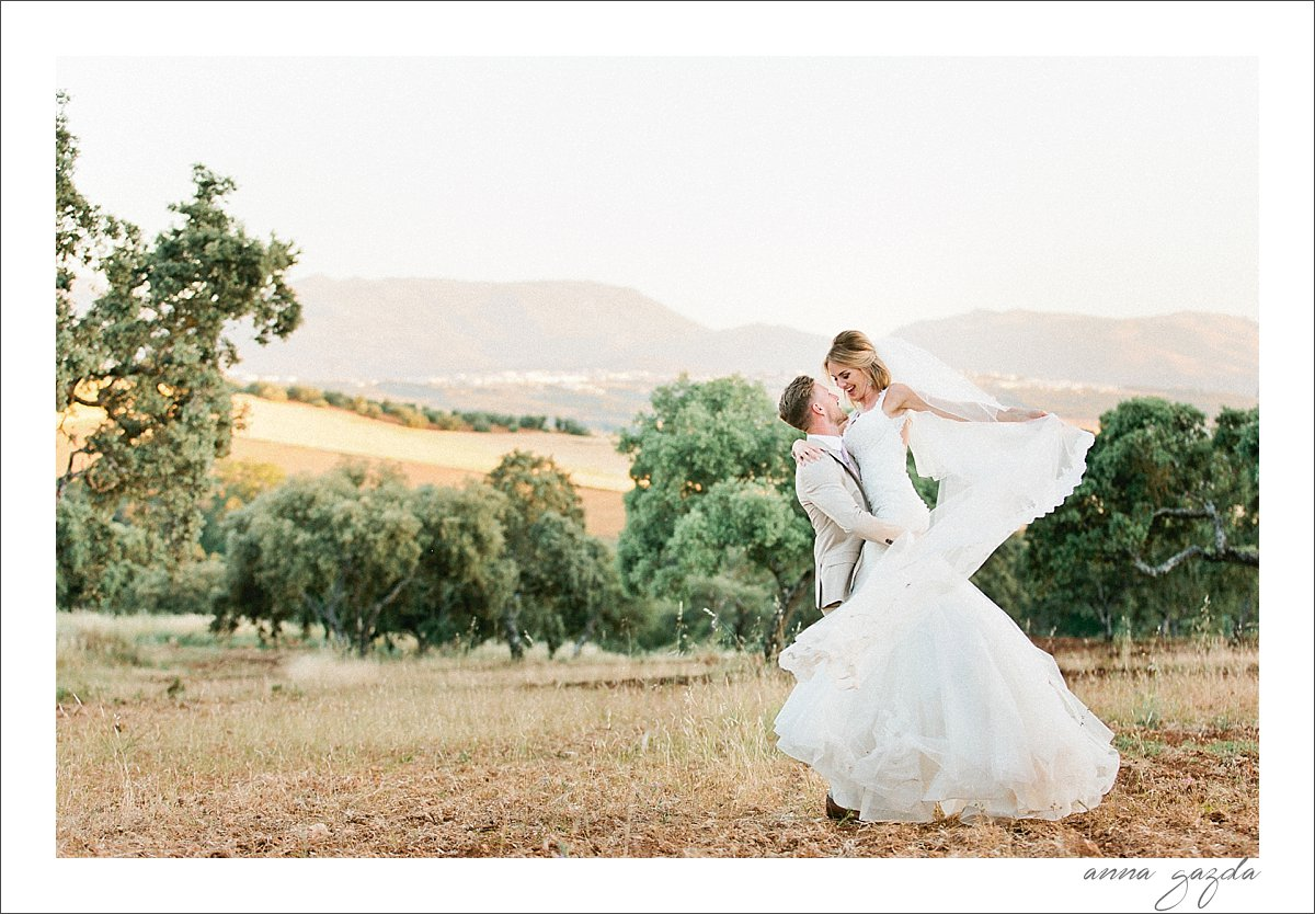 Debbie & Barry wedding in Ronda Spain The Lodge 31166