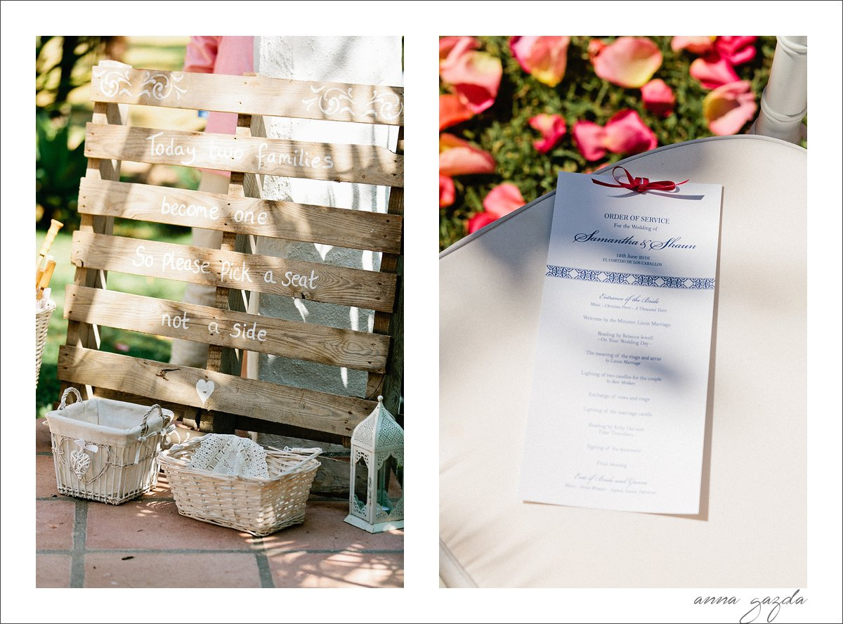 Sam & Shaun Wedding in Benahavis, Spain 31217