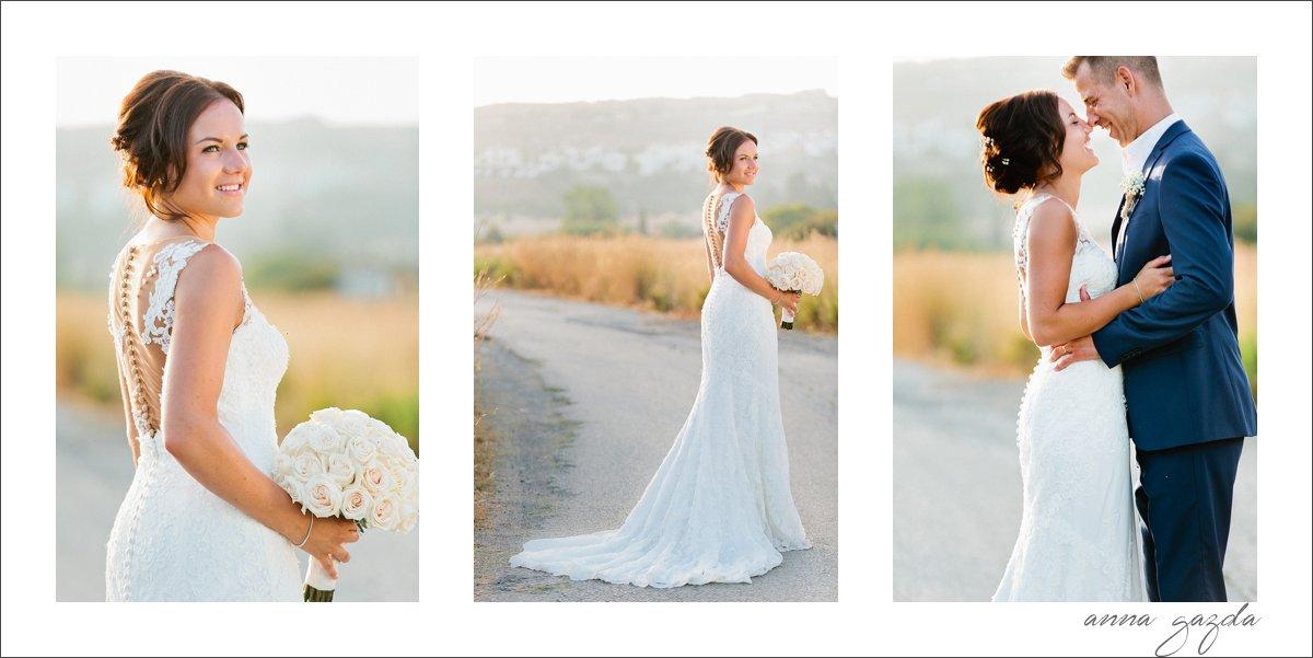 lace dress glamour Marbella
