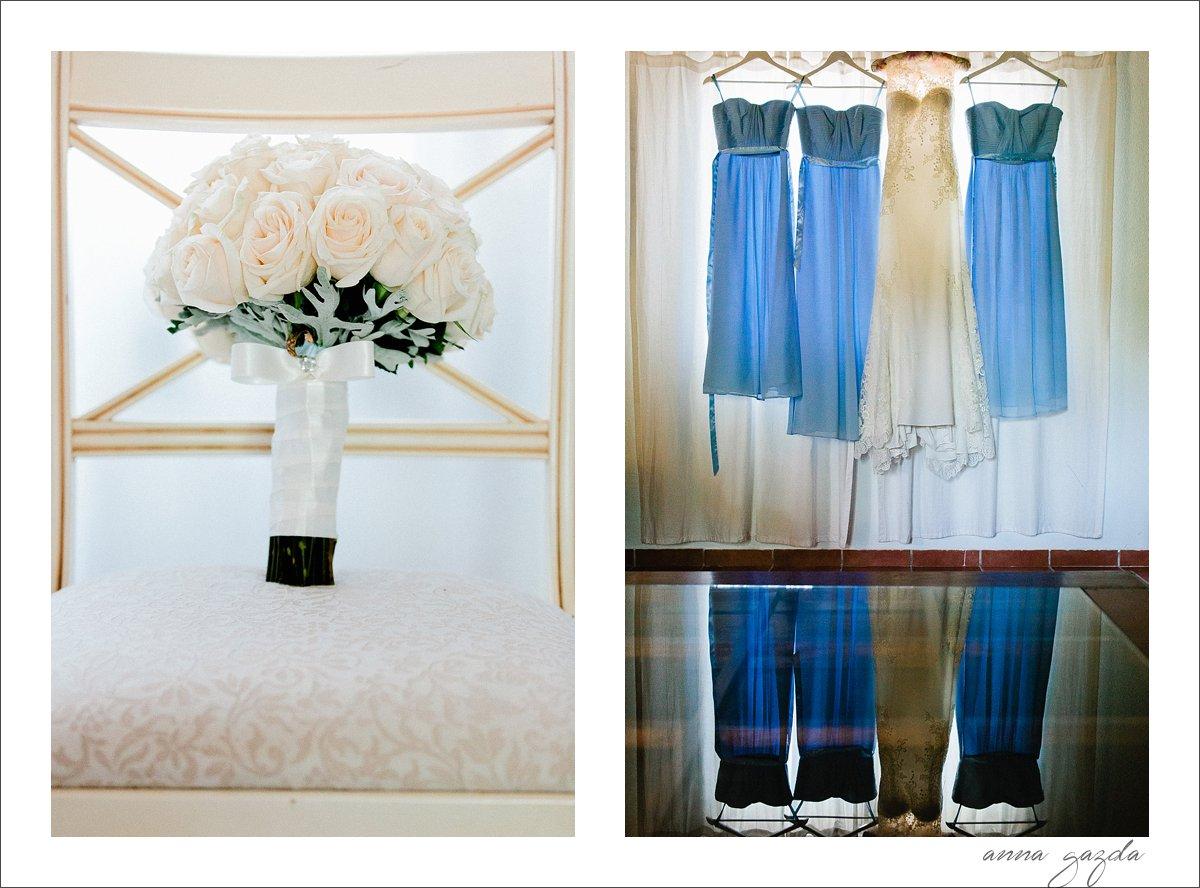 pale blue bridesmaids dresses Marbella