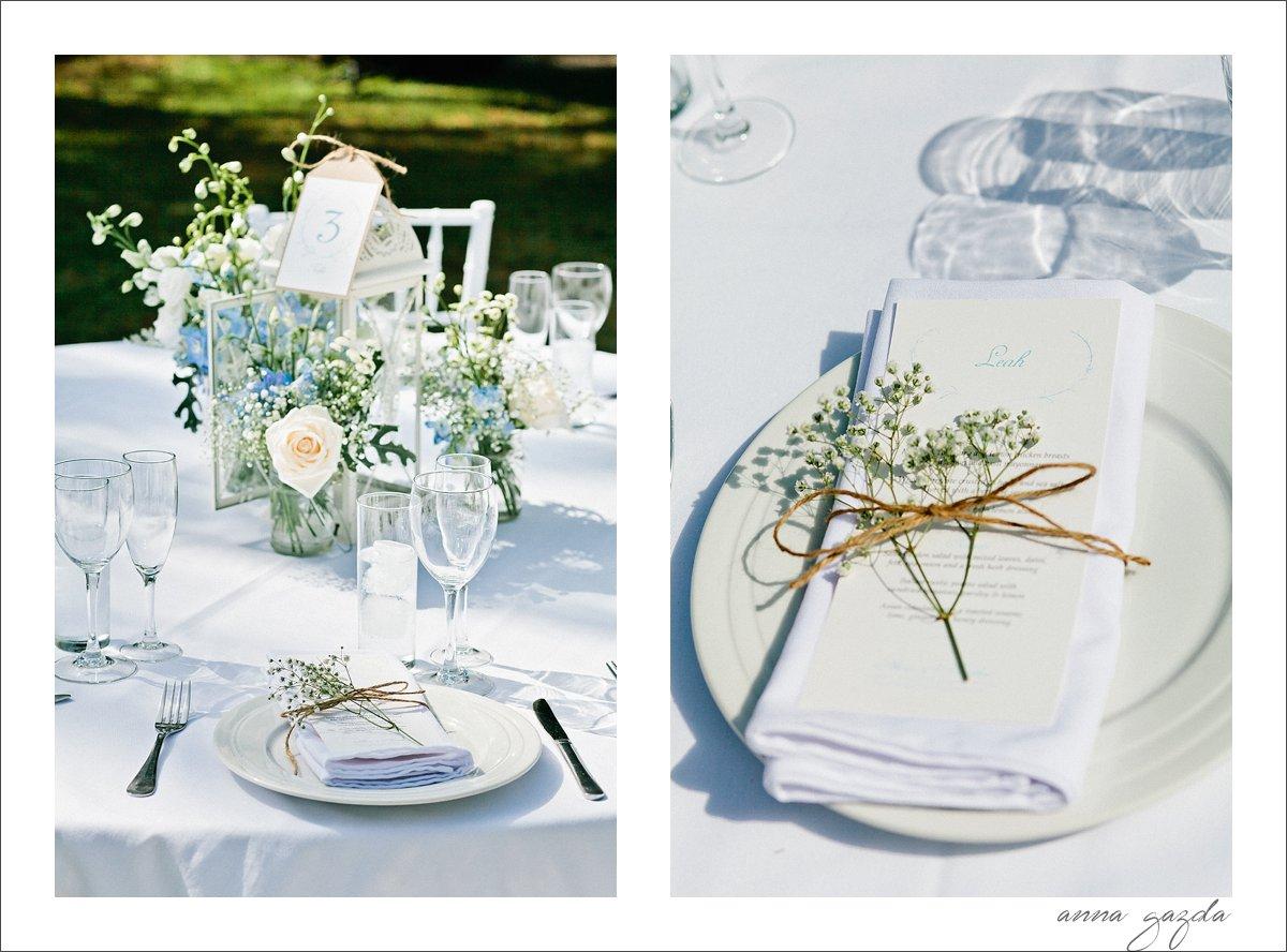white wedding decor Marbella