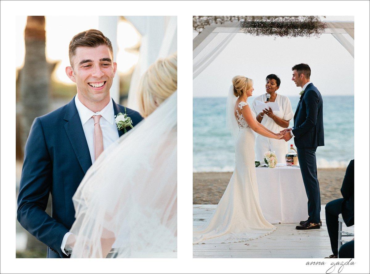 beach wedding photos marbella