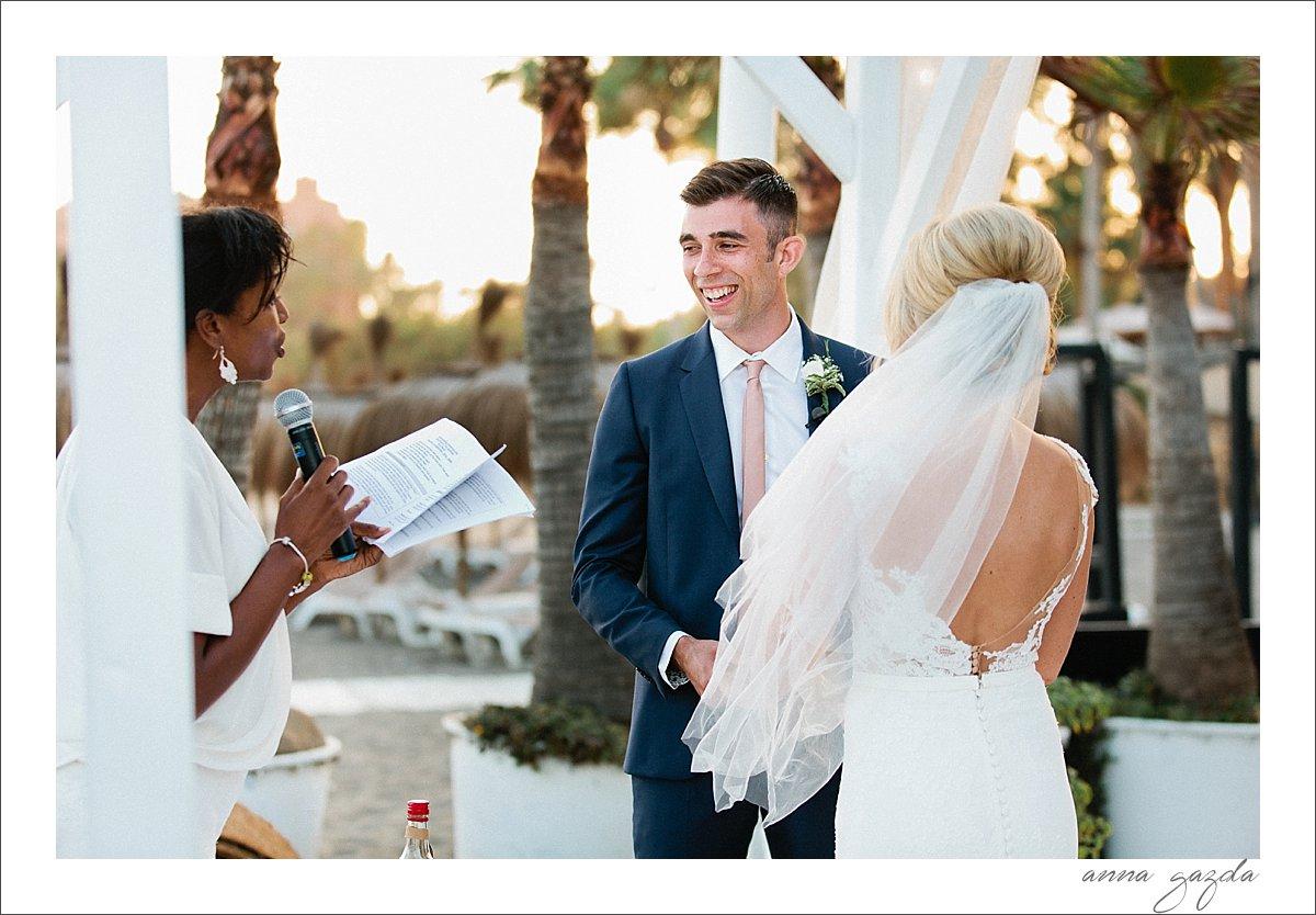 Purobeach marbella wedding