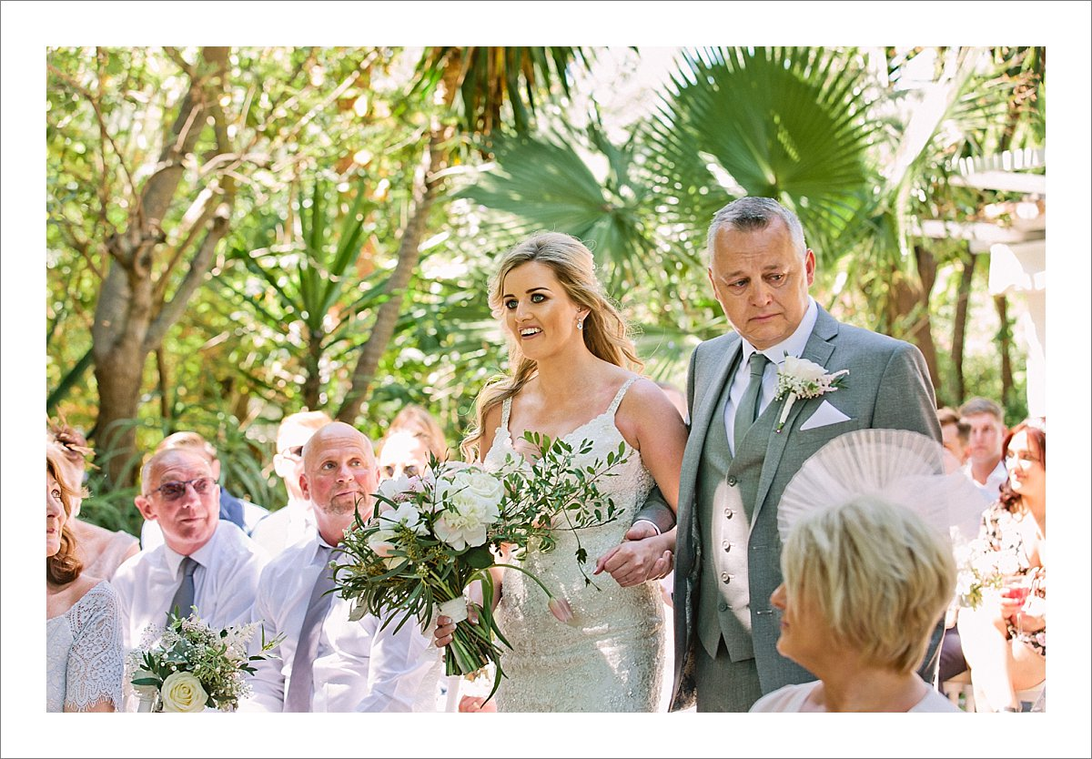 Wedding Photographer Benahavis-Cortijo de los Caballos wedding ceremony