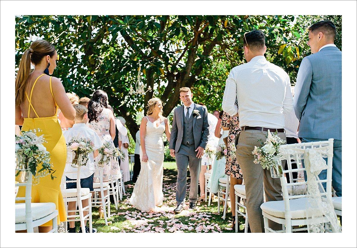 Wedding Photographer Benahavis-Cortijo de los Caballos wedding ceremony garden