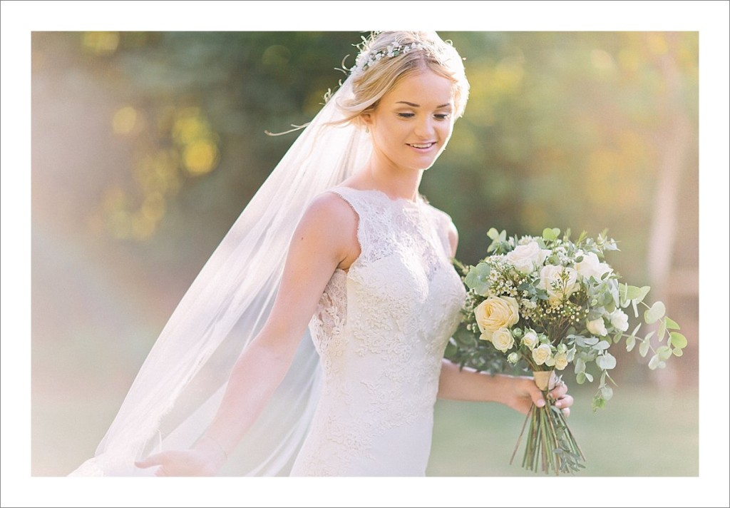 bridal portrait Casa del Rio wedding Benahavis Spain