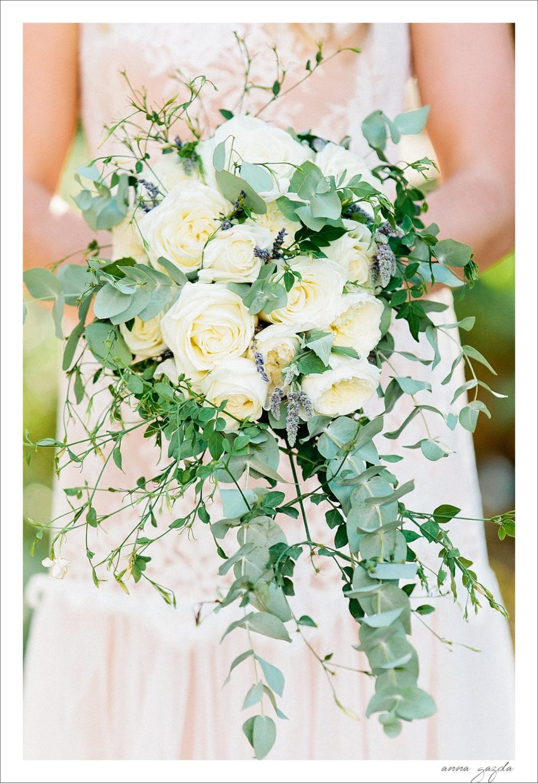 lush wedding flowers arrangement