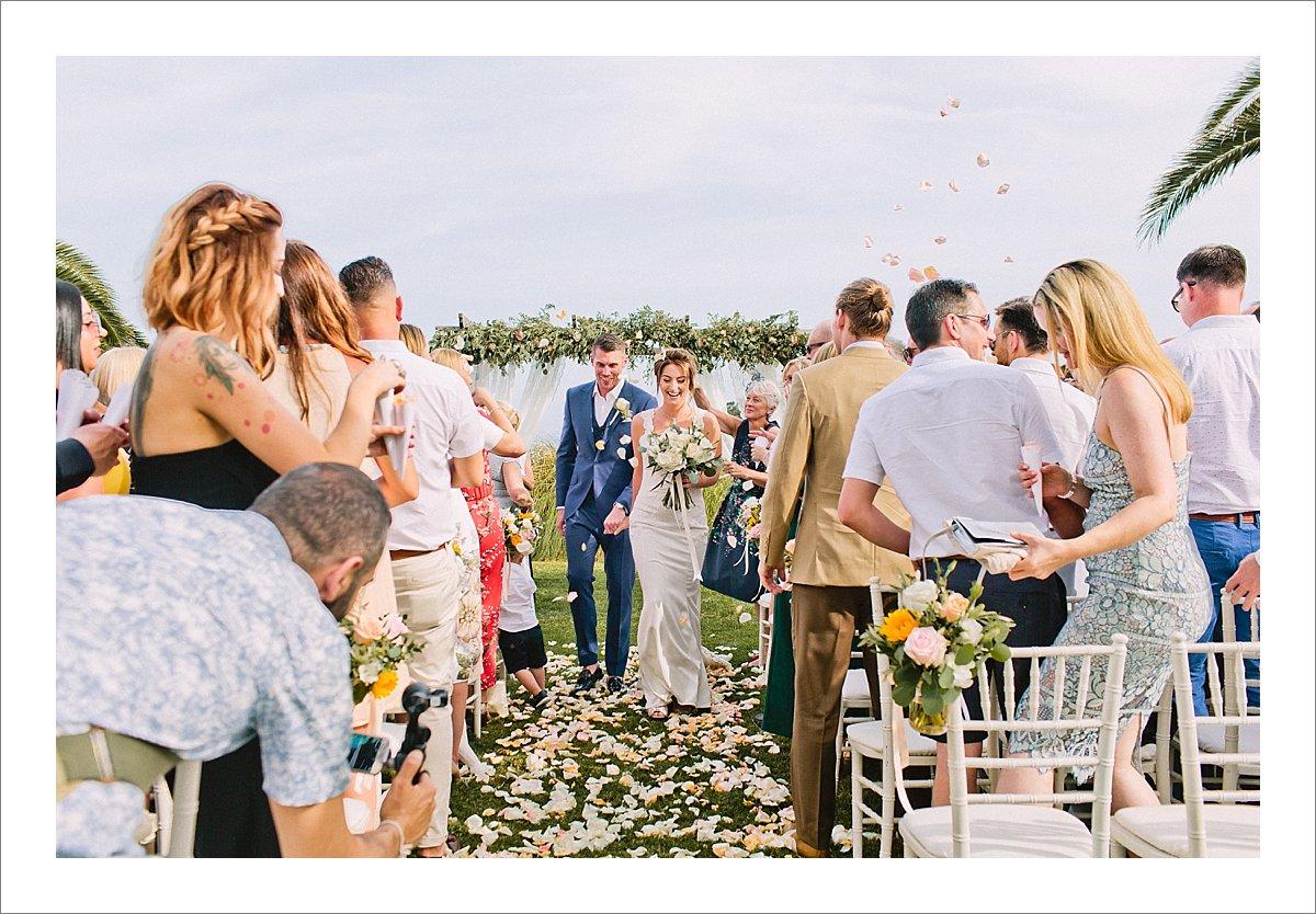 Cortijo Pedro Jimenez wedding Casares Spain