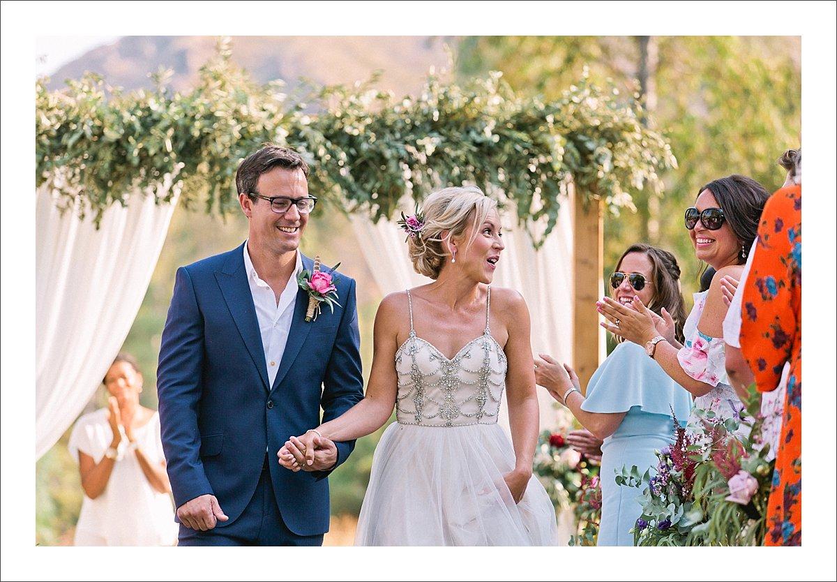 bride and groom ceremony Cortijo Rosa Blanca Spain