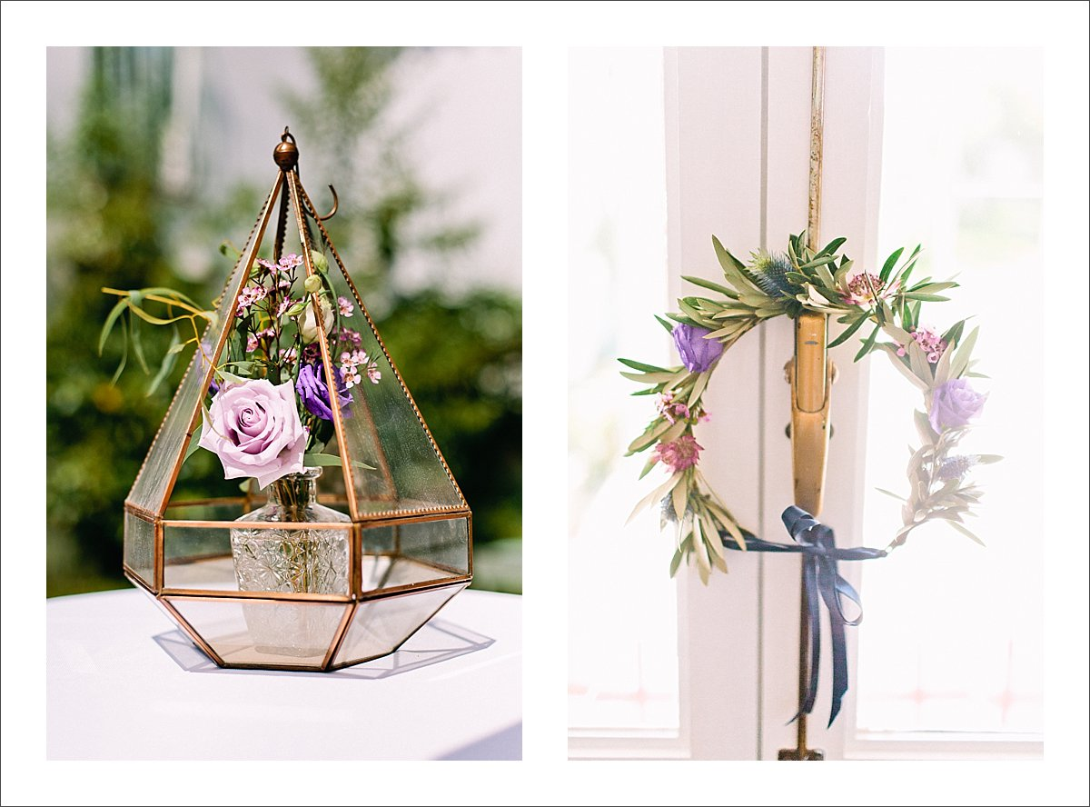 original wedding decorations at Cortijo Rosa Blanca