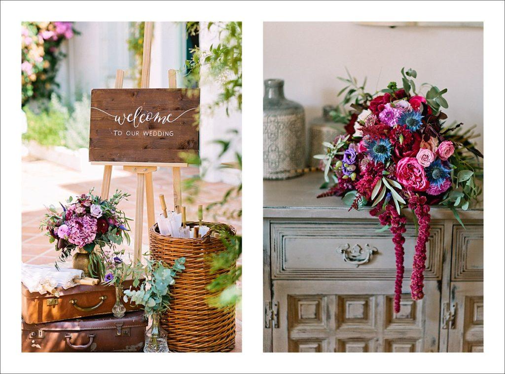 wedding flowers Marbella