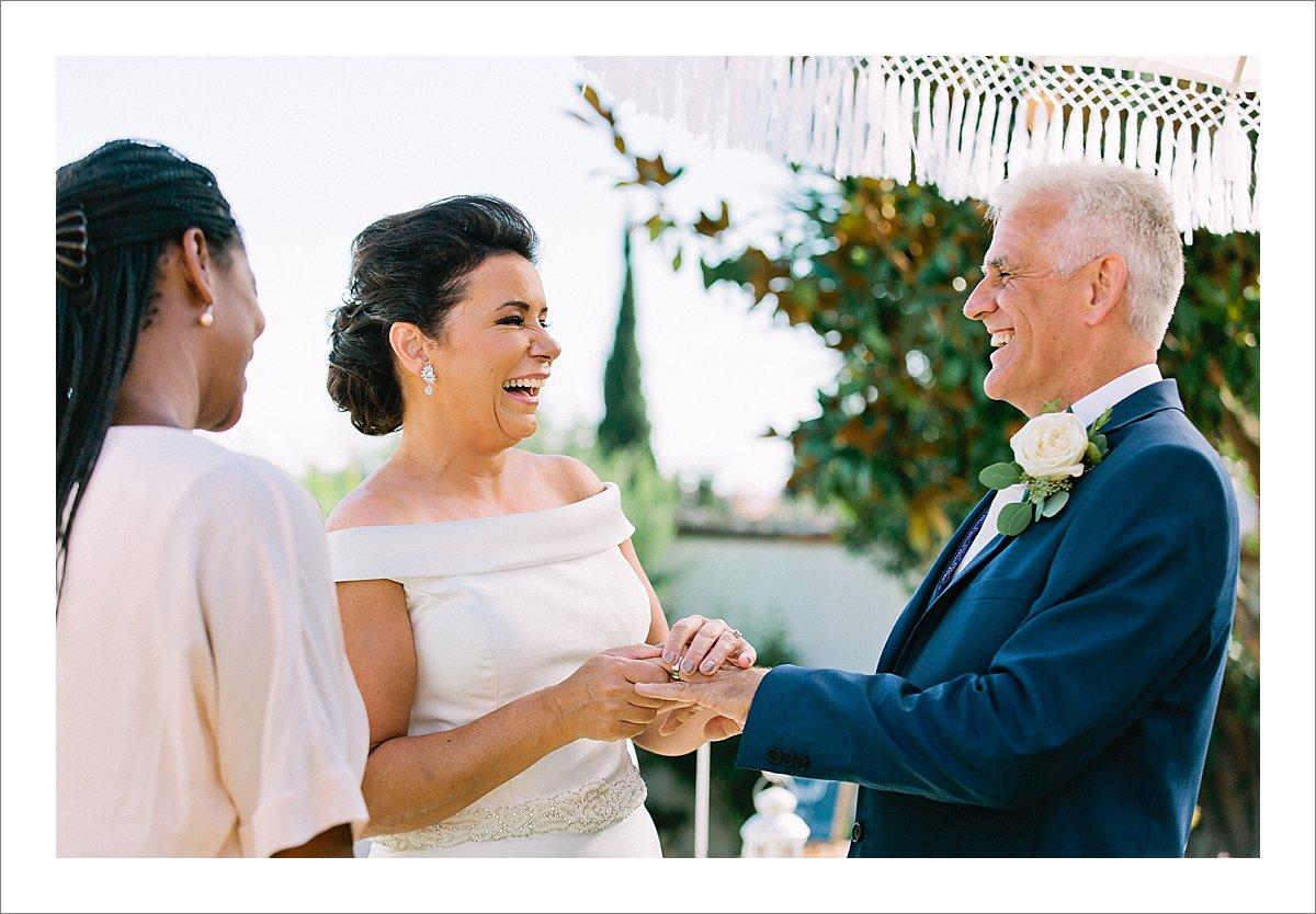 wedding ceremony Benalmadena wedding