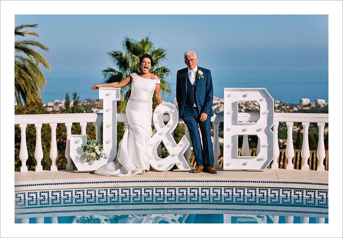 private villa wedding Benalmadena