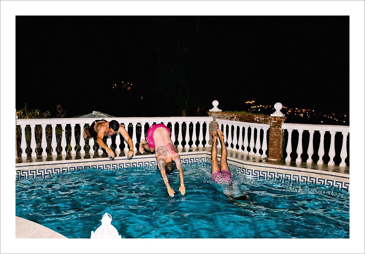 pool party Costa del Sol