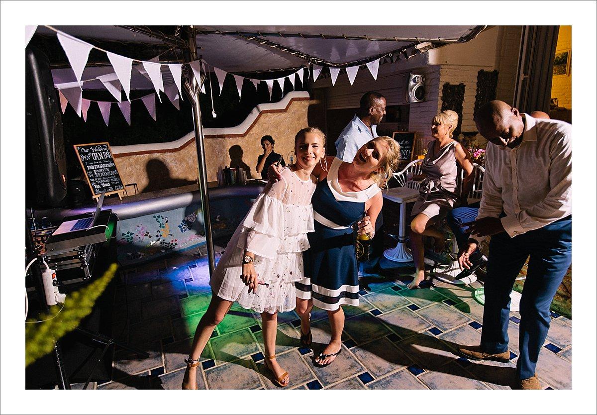 party villa wedding