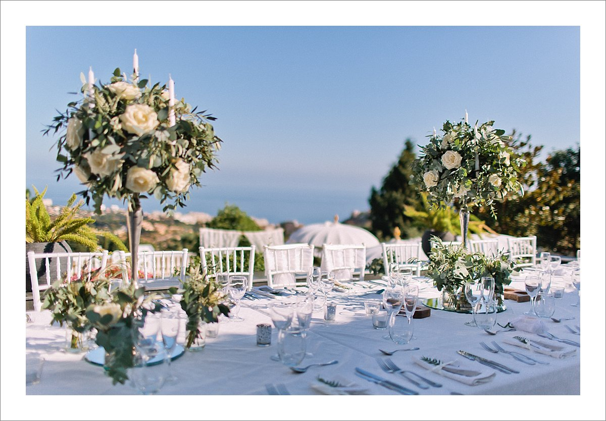 intimate villa wedding Benalmadena Spain