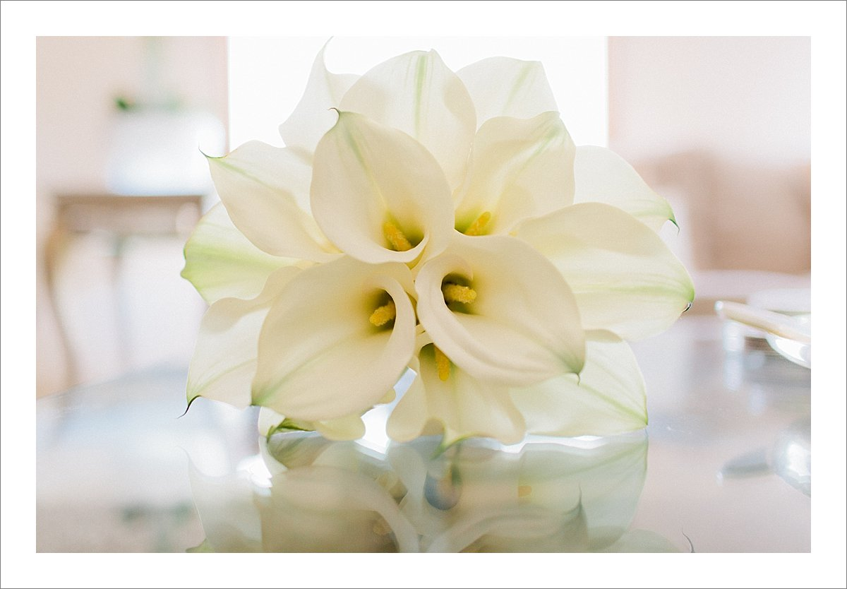 white bridal bouquet Marbella
