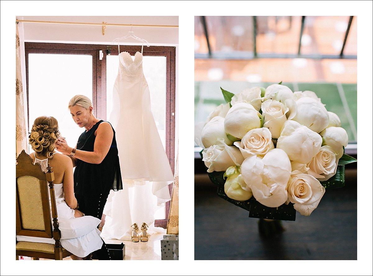 bridal bouquet Marbella