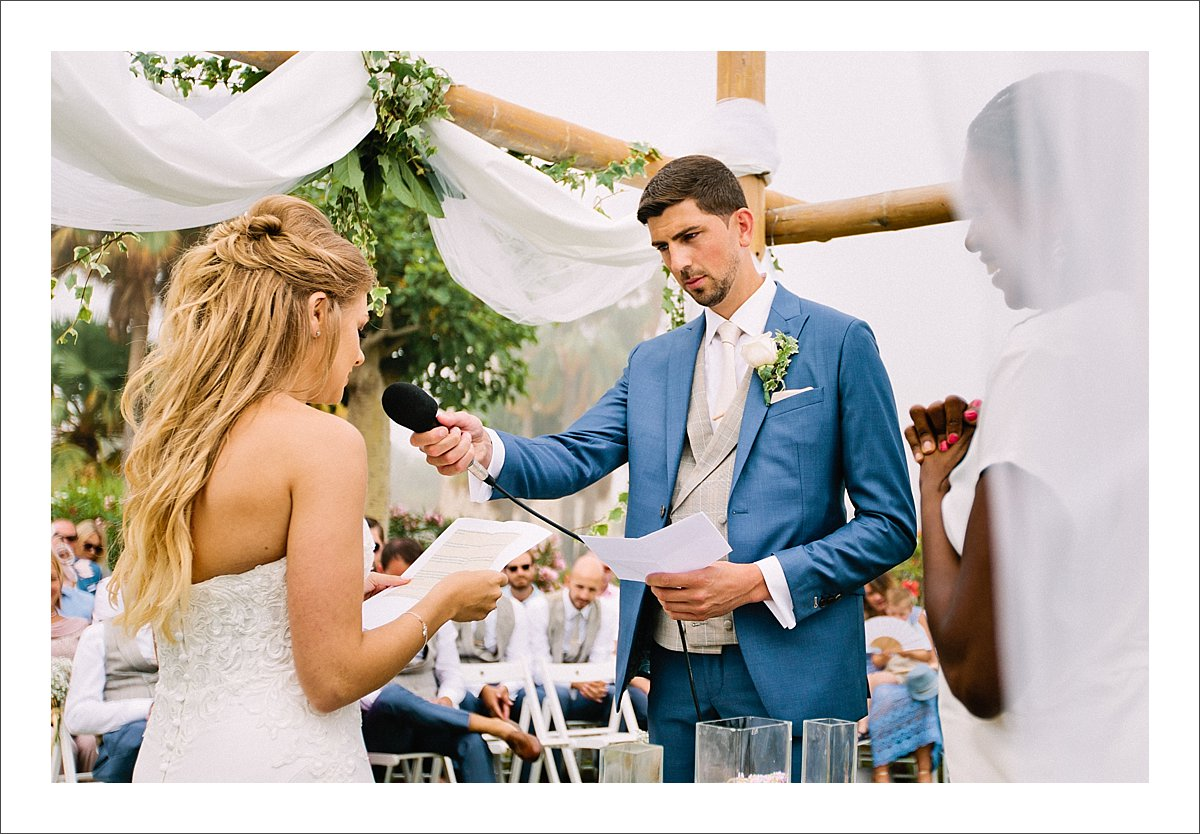 wedding vows marbella