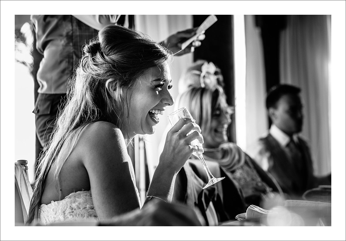 emotional speeches at a wedding in Spain