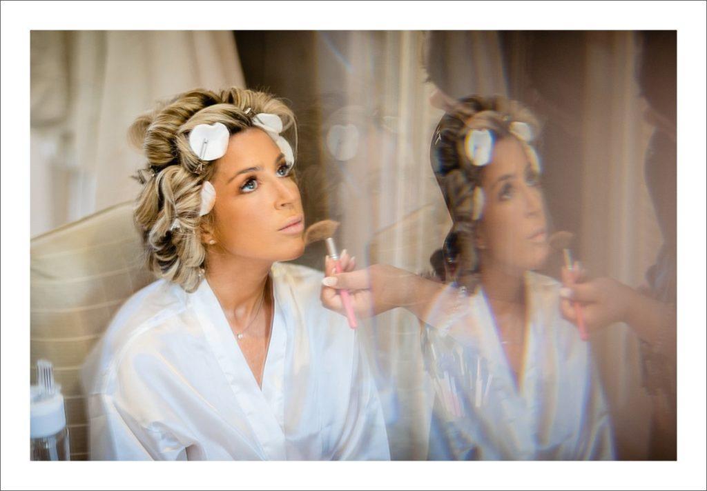 bride getting ready wedding photographer Marbella