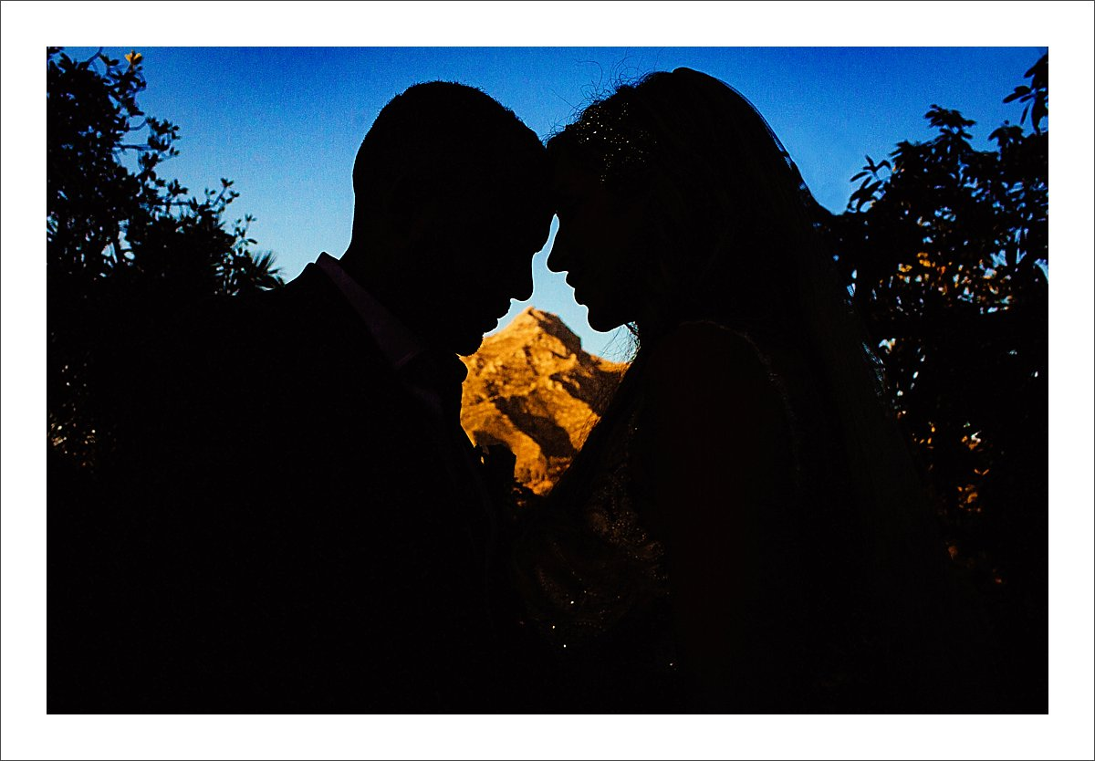 wedding ceremony at Finca La Concepcion in Marbella Spain