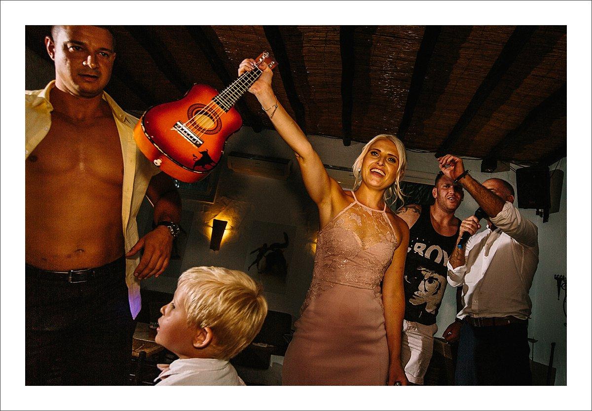Ian Preston entertainment Marbella