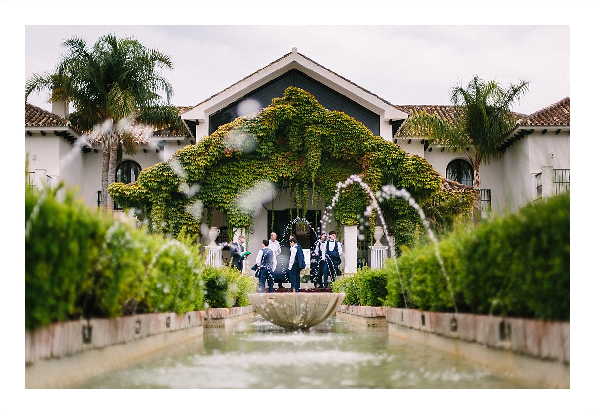 Villa Cisne wedding Marbella