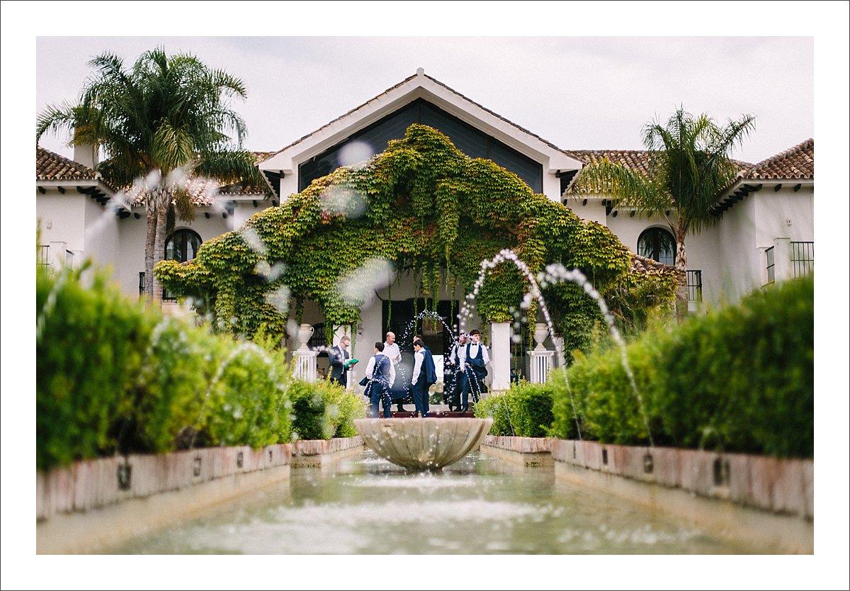 Villa Cisne wedding Marbella