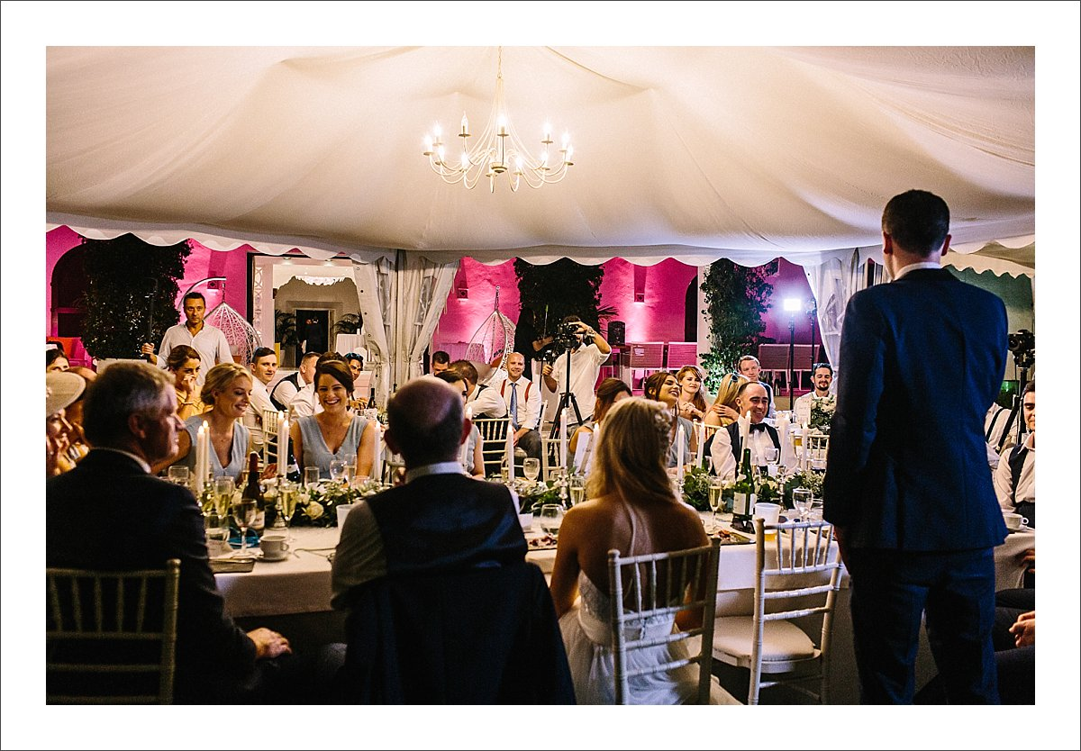 marquee wedding marbella