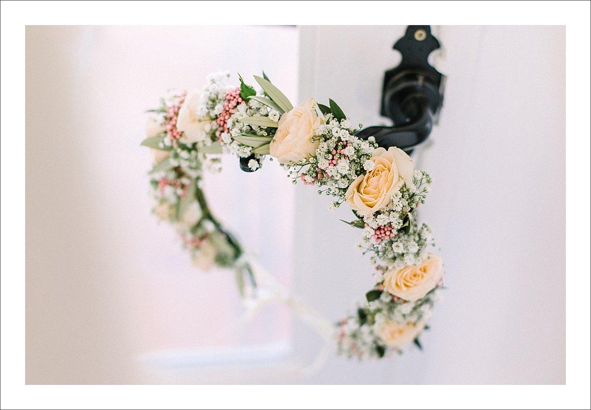 wedding flower crown Marbella