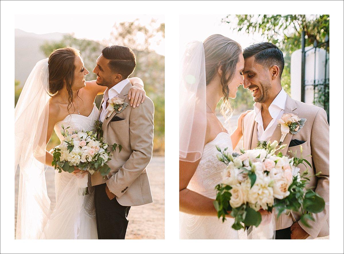 bride and groom portrait marbella