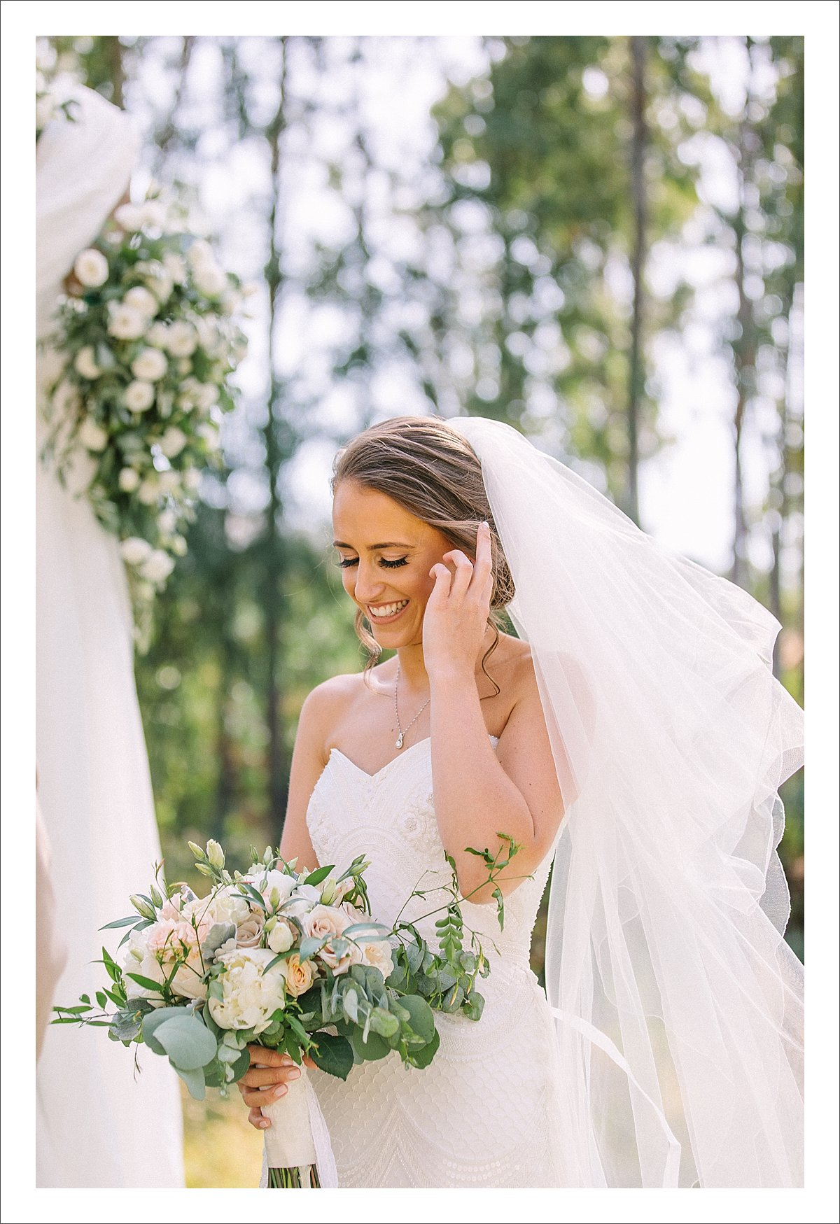 wedding ceremony by Gayle at Cortijo Rosa Blanca