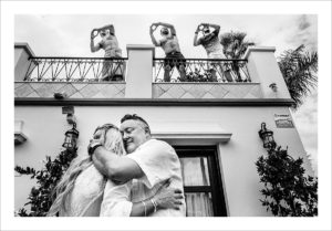 private villa wedding near Marbella