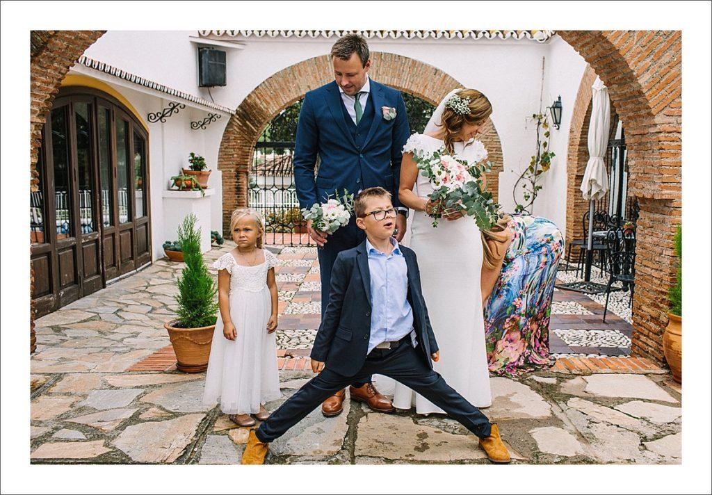 Norwegian church Spain bryllup spanien