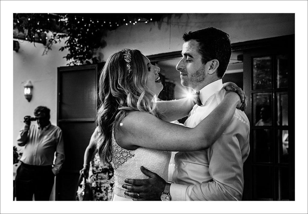 casa del rio first dance bride and groom
